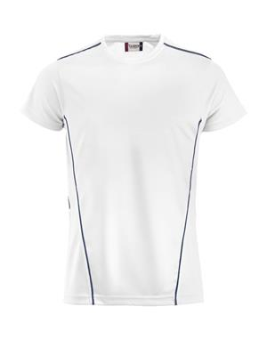 NewWave T-shirt Clique ICE Sport T (L - BIANCO - BLU NAVY)