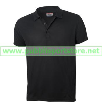 NewWave Polo ICE Sport Clique Polyestere (2XL - NERO)