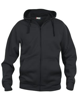 NewWave Basic Hoody Full Zip (L - NERO)