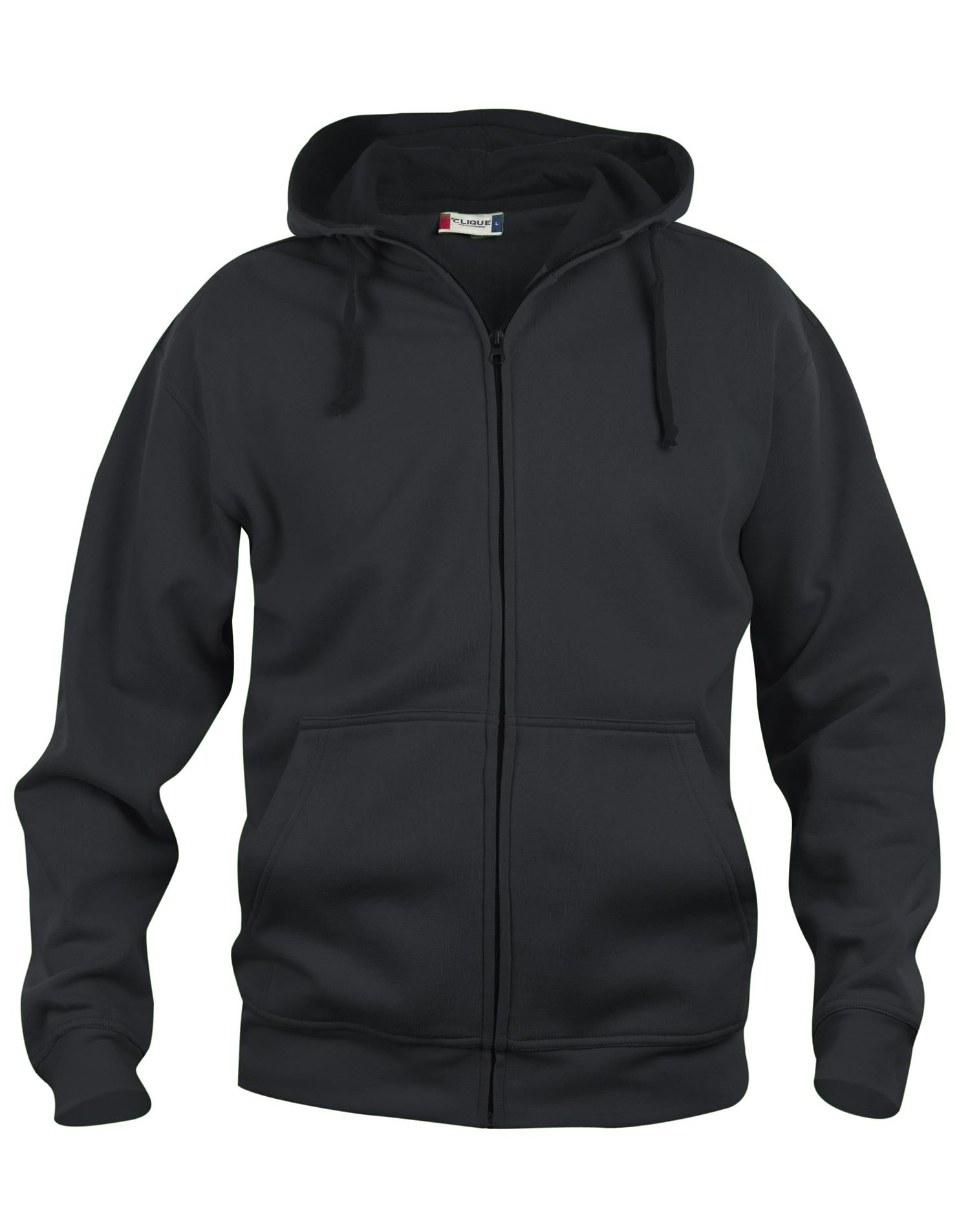NewWave Basic Hoody Full Zip (S - NERO)