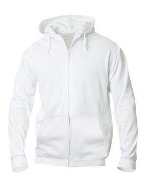 NewWave Basic Hoody Full Zip (L - BIANCO)