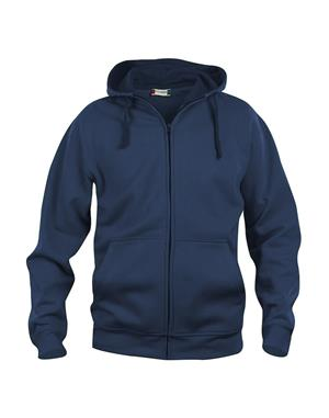 NewWave Basic Hoody Full Zip (L - BLU NAVY)