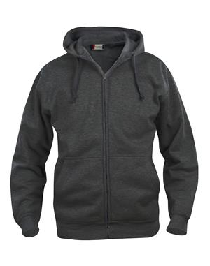 NewWave Basic Hoody Full Zip (L - ANTRACITE MELANGE)