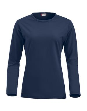 NewWave Fashion-T Ladies Long Sleeve (S - BLU NAVY)