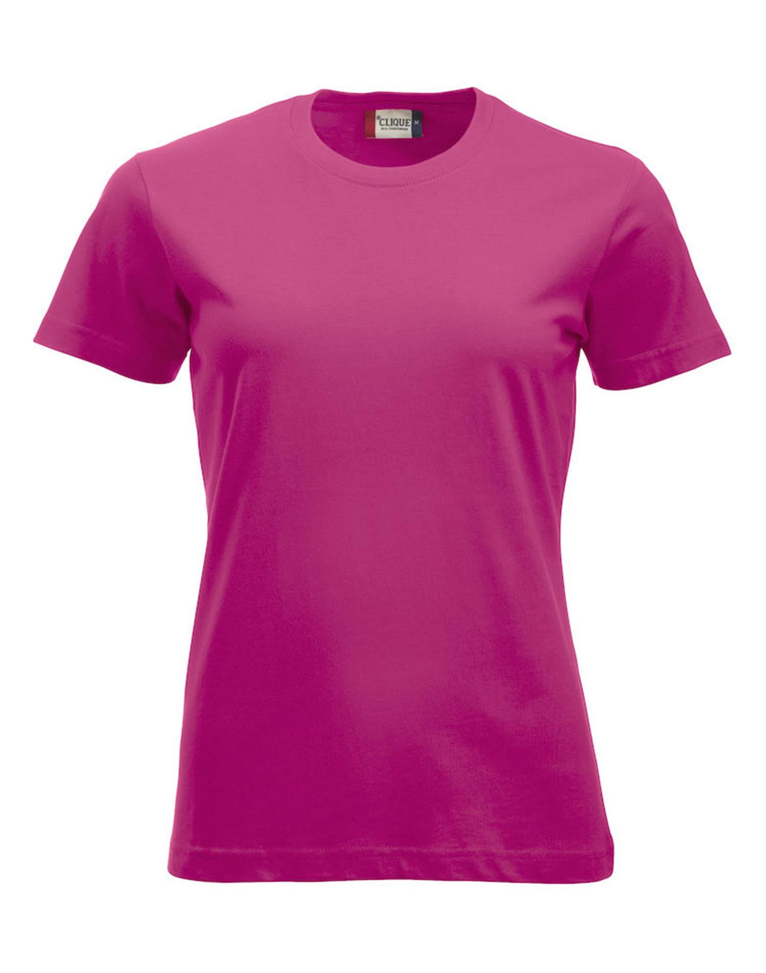 NewWave T-shirt New Classic-T Ladies (XL - LAMPONE)