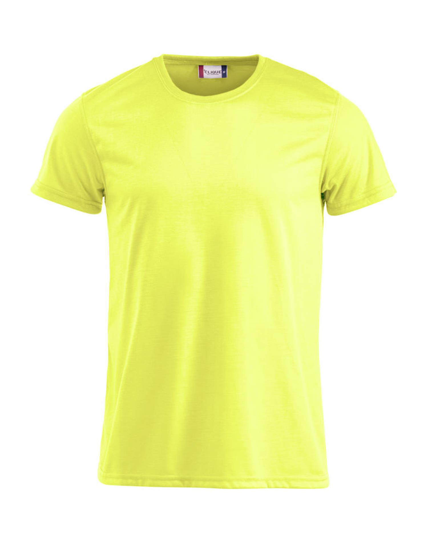NewWave T-shirt Neon-T  (M - GIALLO NEON)