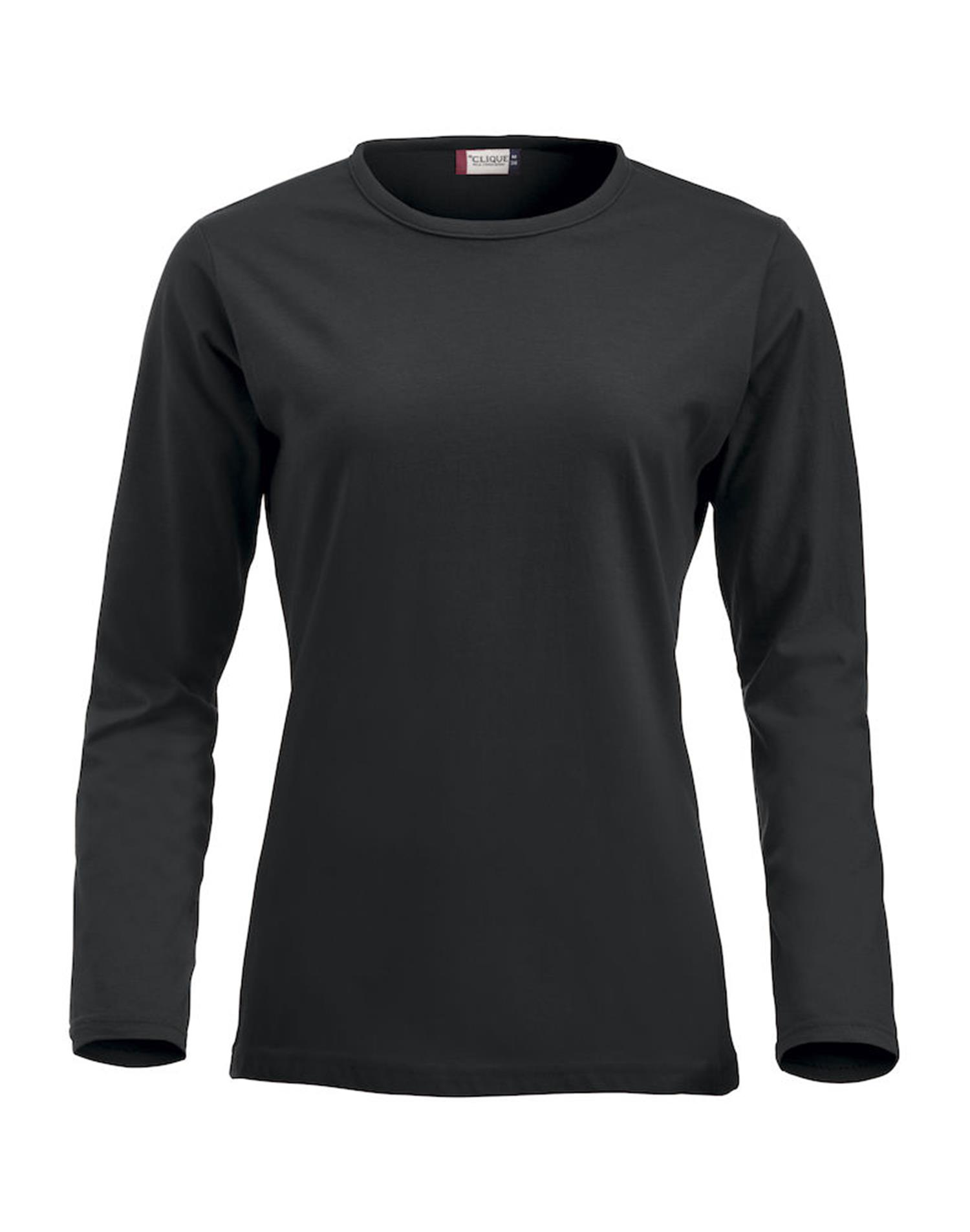 NewWave Fashion-T Ladies Long Sleeve (S - NERO)