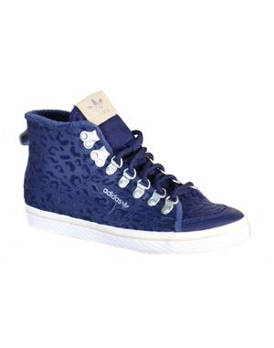 ADIDAS Scarpa Donna Originals Honey Hook W  (40-2/3 - BLU NAVY)