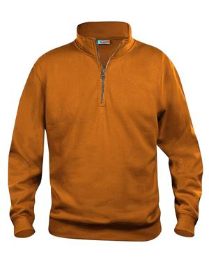 NewWave Felpa Mezza Zip Unisex (L - VISIBILY ORANGE)