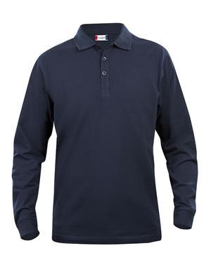NewWave Polo Lincoln Manica Lunga (L - BLU NAVY)