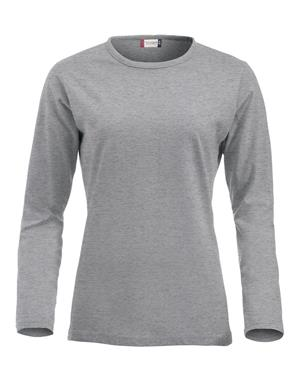 NewWave Fashion-T Ladies Long Sleeve (XL - GRIGIO MELANGE)