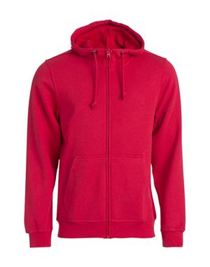 NewWave Basic Hoody Full Zip (2XL - ROSSO)