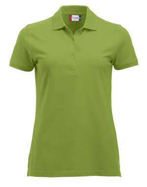 NewWave Polo Donna Marion Manica Corta (L - VERDE MELA)