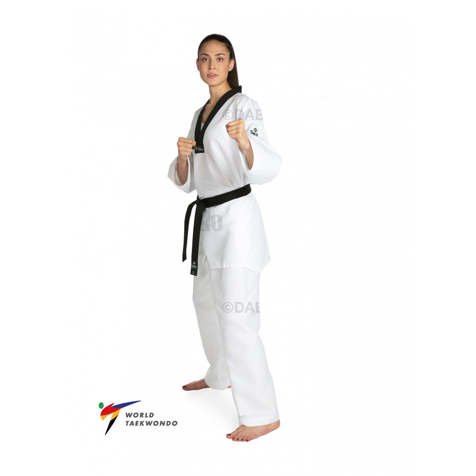 Dae Do Dobok WTF Speciale Dae do (3° - 160cm - BIANCO)