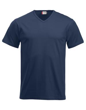NewWave T-shirt Clique Fashion-T V-Neck (L - BLU NAVY)