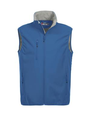 NewWave Gilet Uomo Soft Shell Basic (L - ROYAL)