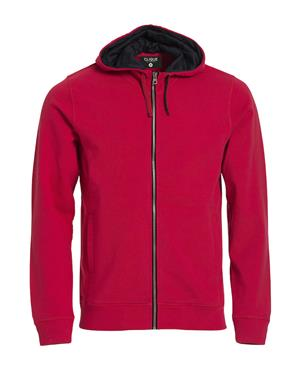 NewWave Classic Hoody Full Zip (L - ROSSO)