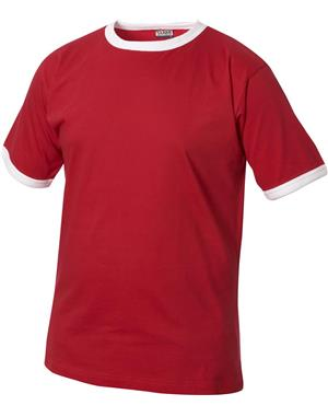 NewWave T-shirt Nome Kids (110-120 - ROSSO)