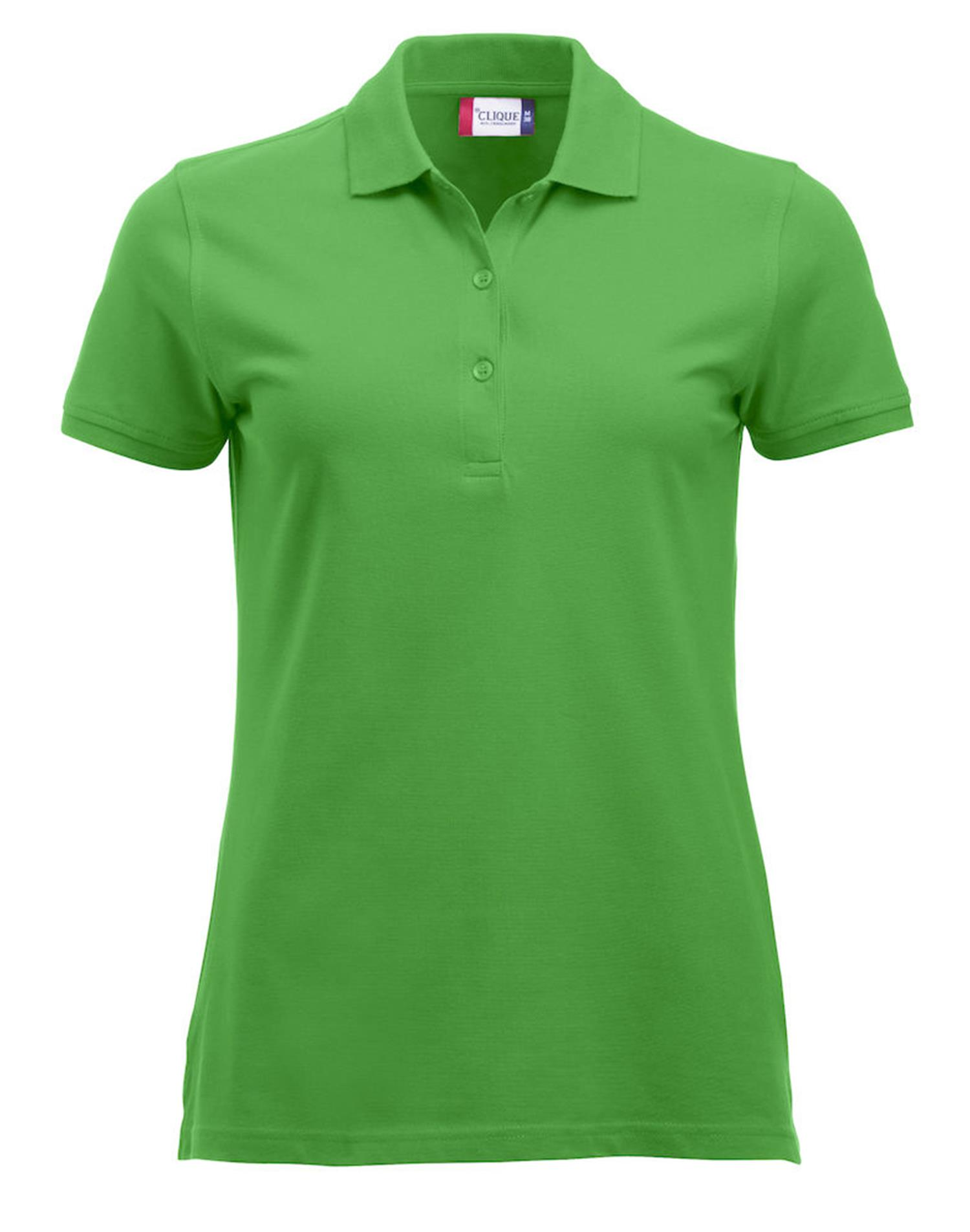 NewWave Polo Donna Marion Manica Corta (XL - VERDE ACIDO)