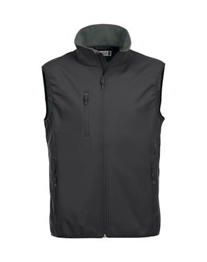 NewWave Gilet Uomo Soft Shell Basic (2XL - NERO)