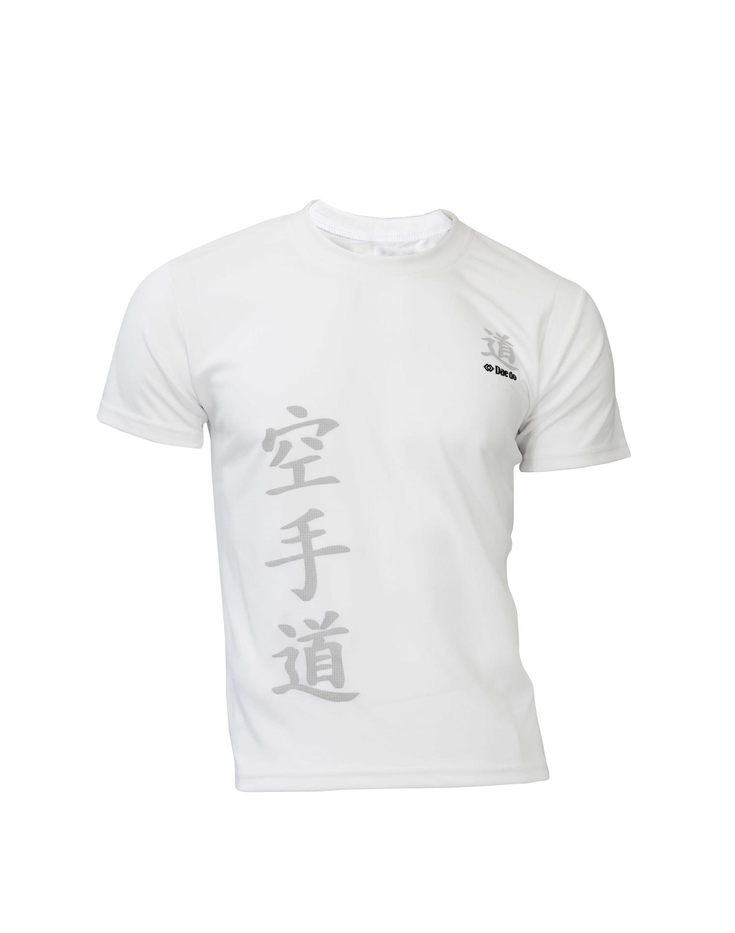 Dae Do T-shirt Karate Hyro Cool Biaco (S - BIANCO)