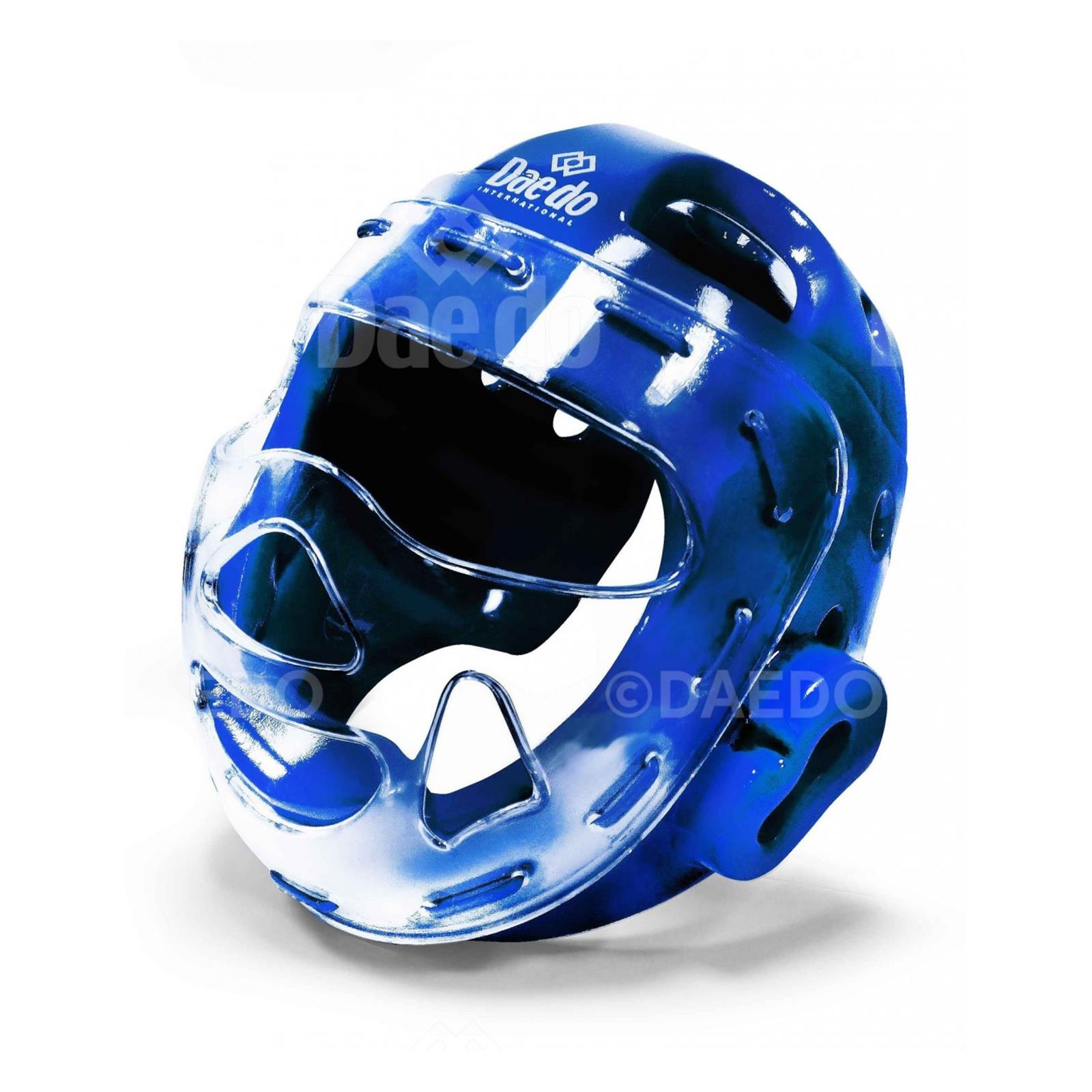 Dae Do Casco con Visiera WT Royal (M - AZZURRO)