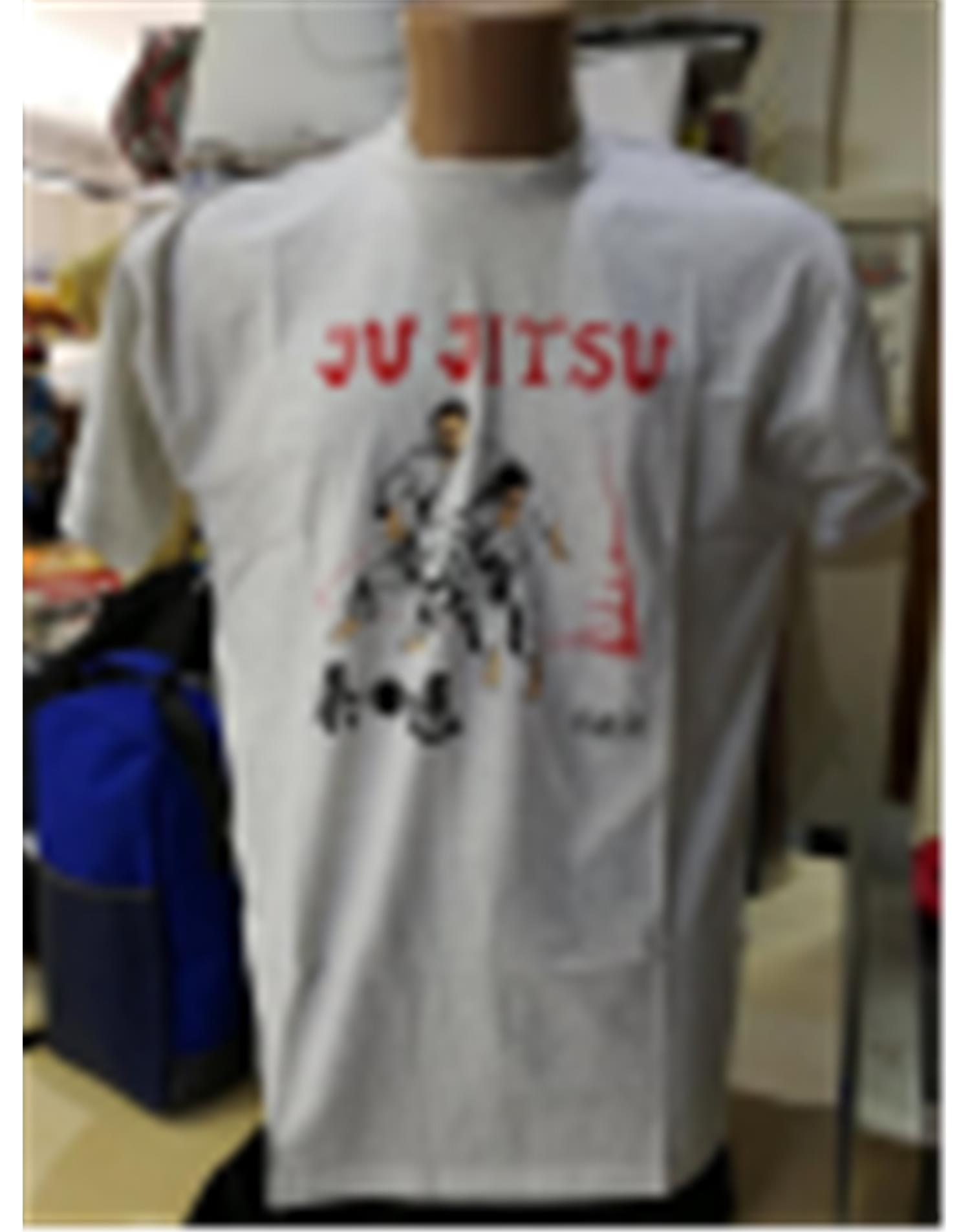 Dae Do T-shirt Jujitsu (L - GRIGIO)