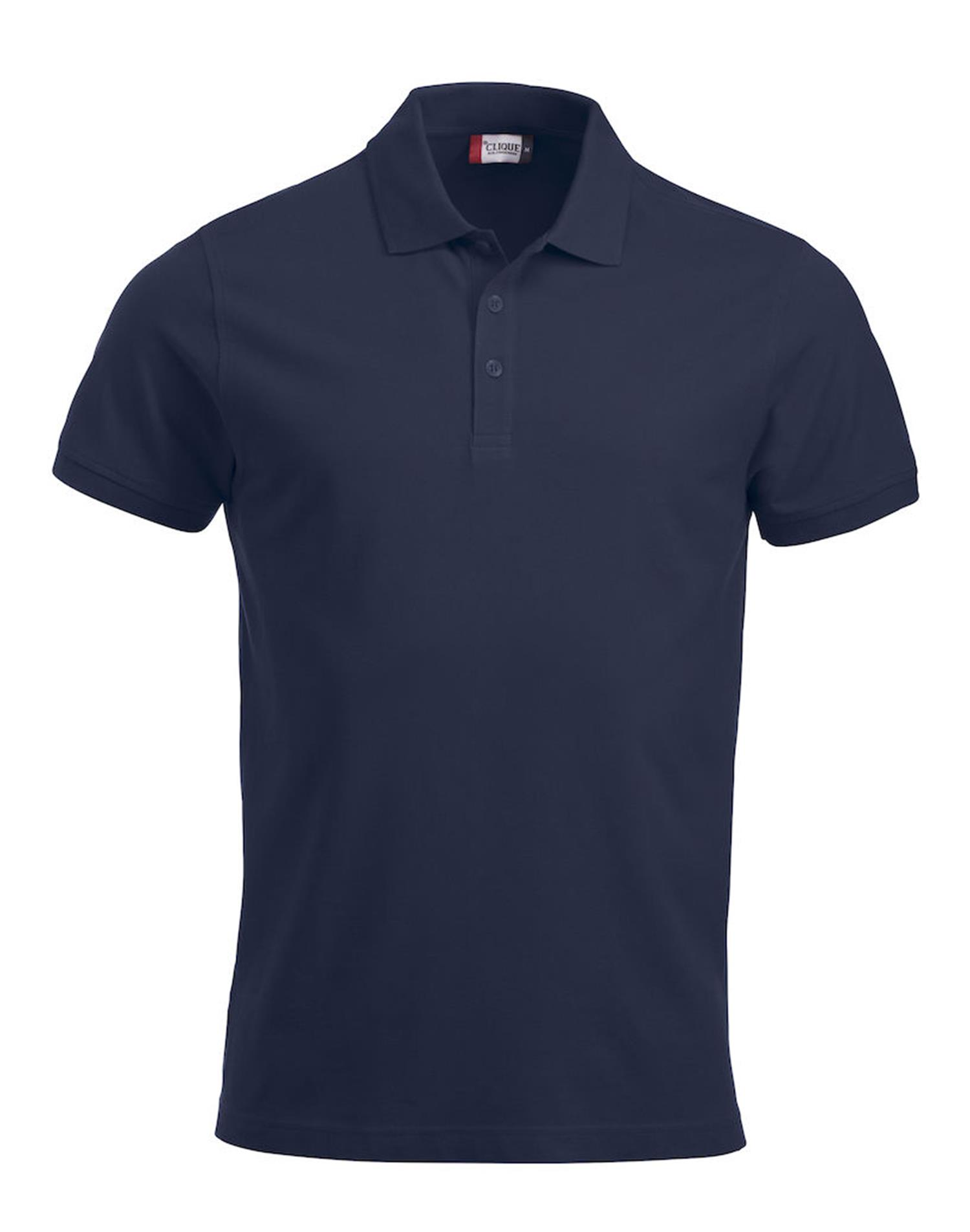 NewWave Polo Lincoln Classic Manica Corta (XS - BLU NAVY)