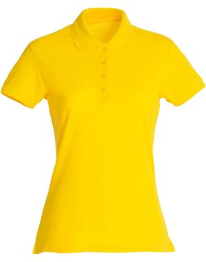 NewWave Polo donna basic (L - GIALLO LIMONE)
