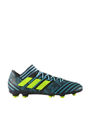 ADIDAS Scarpe da calcio nemeziz 17.3 firm ground (44 - VERDE - NERO)