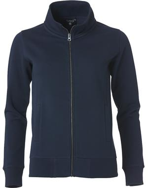 NewWave Felpa Donna Cardigan zip intera  (XL - BLU NAVY)