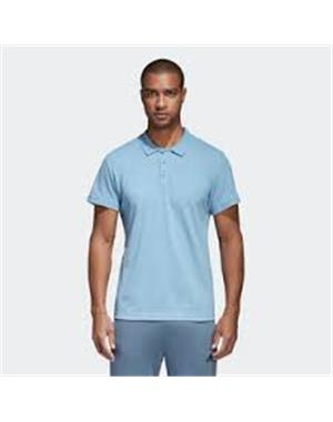 ADIDAS Polo Adidas Essentials Basic (2XL - AZZURRO)