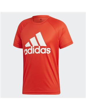 ADIDAS T-shirt Tee Logo (XS - ROSSO)