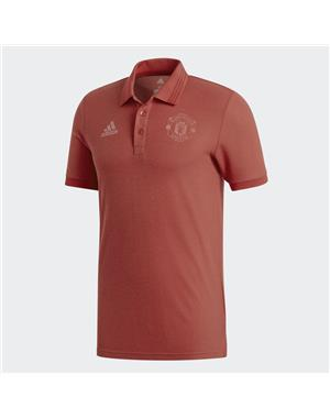 ADIDAS Polo Manchester UTD (2XL - ROSSO)