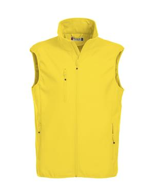 NewWave Gilet Uomo Soft Shell Basic (XL - GIALLO)
