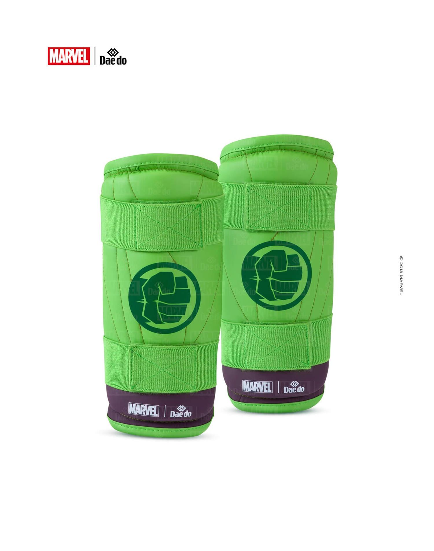Dae Do Parabraccia Marvel Hulk (3 - M - VERDE)