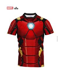 Maglietta Junior Iron Man Full Print Slim Fit