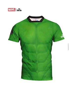 Dae Do Maglietta Hulk Full Print Slim Fit (L - VERDE)