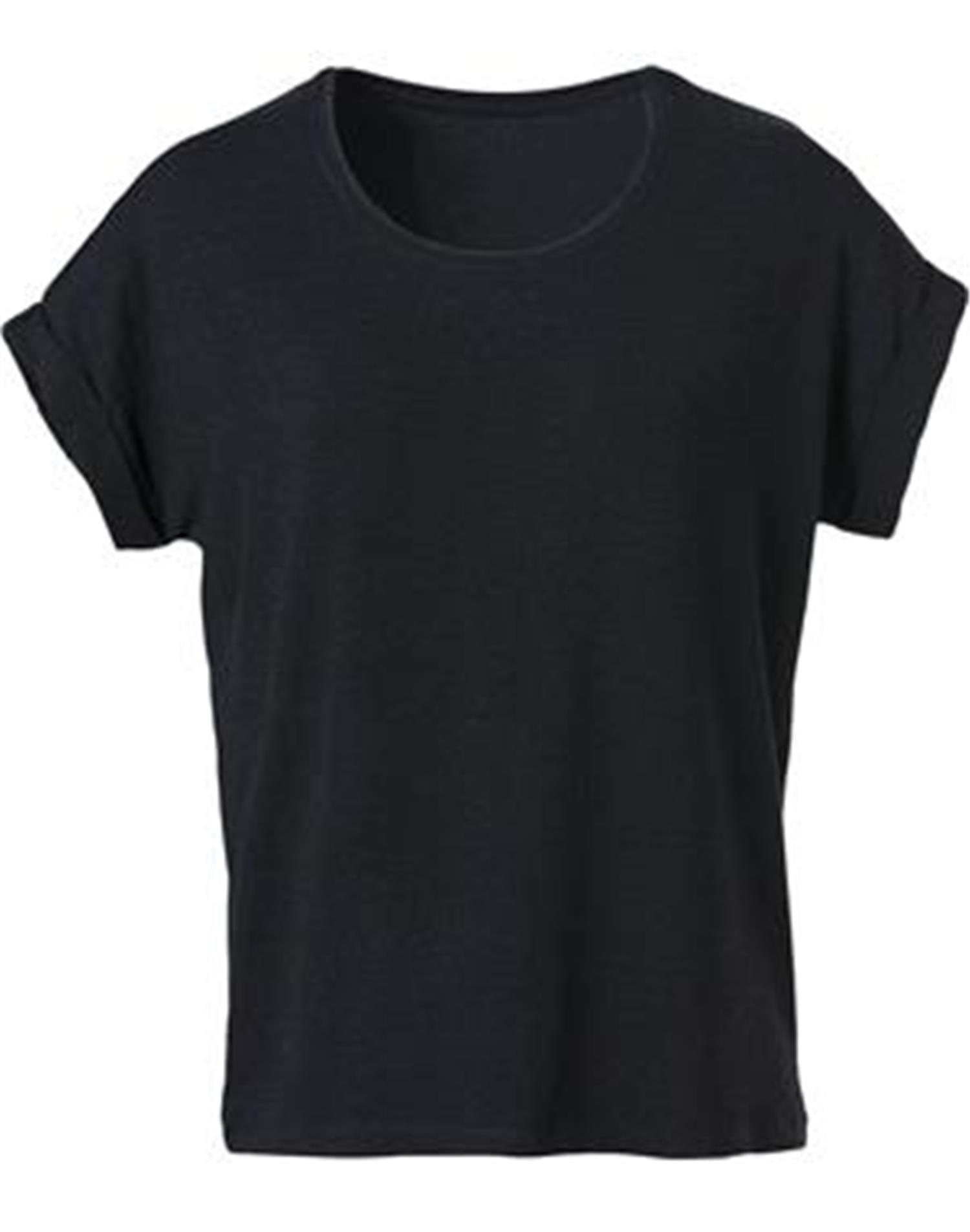 NewWave T-Shirt Donna Loose-Fit (M - NERO)