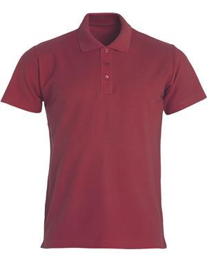 NewWave Polo Uomo Basic (XL - BORDEAUX)