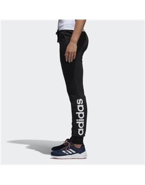 ADIDAS PANTALONE DONNA ESSENTIAL LINEAR PANT (2XS - NERO - BIANCO)