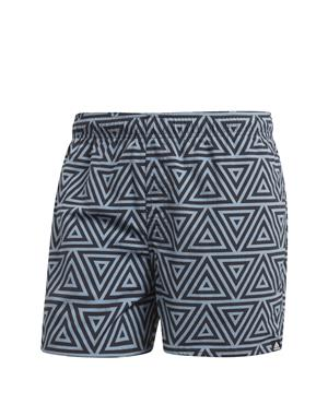 ADIDAS Costume All Over print shorts (S - NERO - GRIGIO)