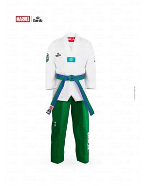 Dae Do DOBOK MARVEL HULK (3° - 160cm - BIANCO - BLU)