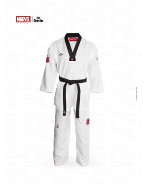 Dae Do Dobok Marvel Spiderman Collo Nero (4° - 170cm - BIANCO Hi-Tech)
