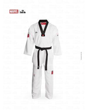 Dae Do Dobok Marvel Spiderman Collo Nero (6° - 190cm - BIANCO Hi-Tech)