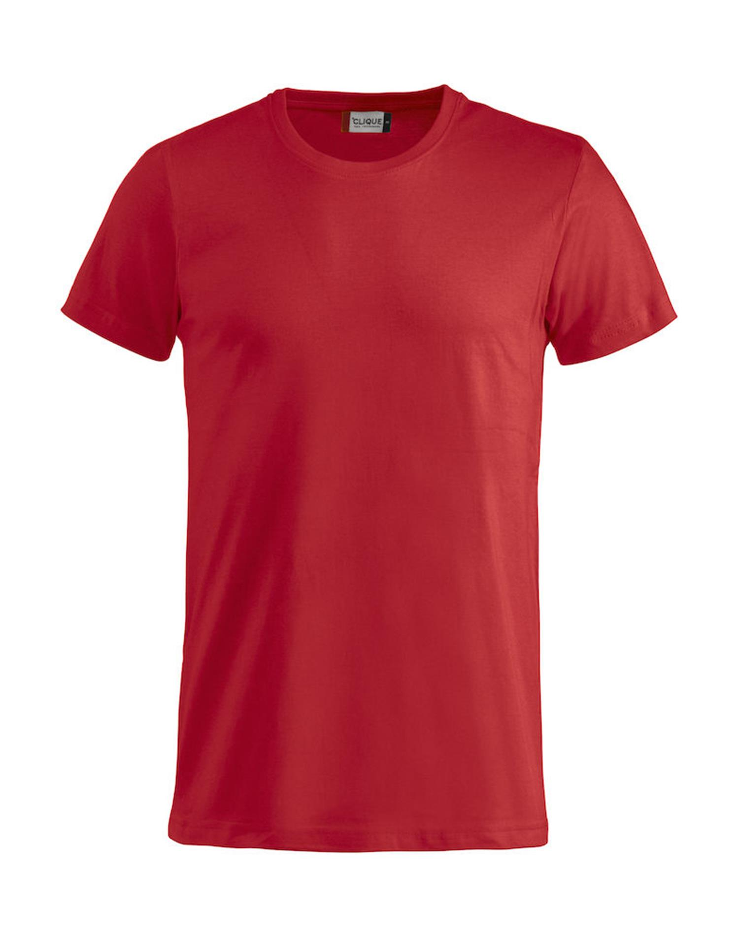 NewWave T-shirt Basic-T Clique (L - ROSSO)
