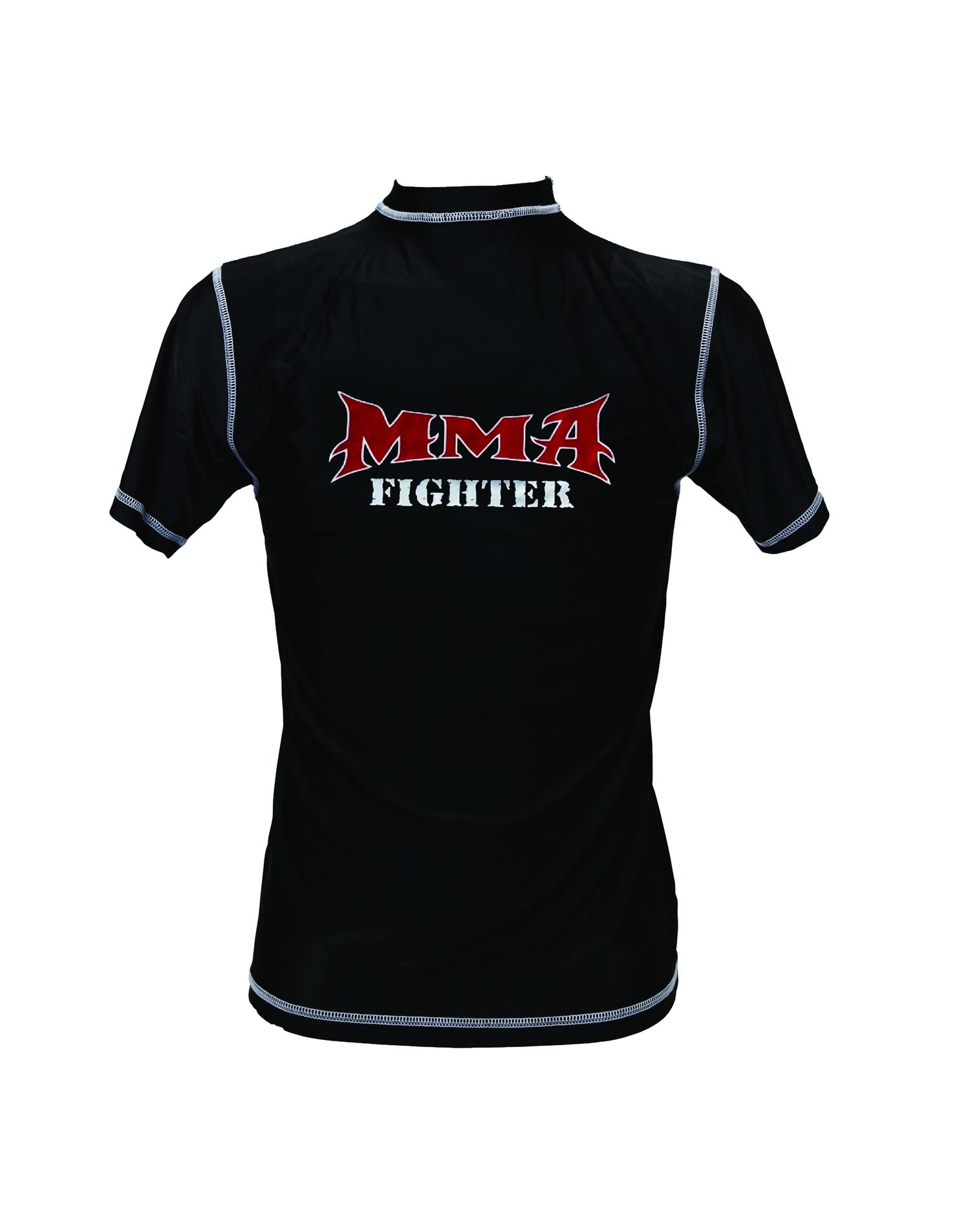Dae Do T-shirt MMA Nera 86% Nylon 14% Lycra