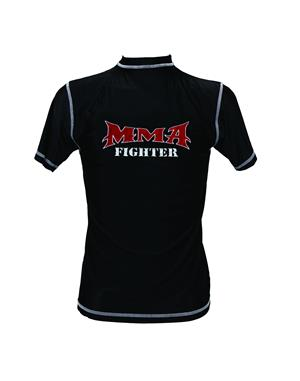 Dae Do T-shirt MMA Nera 86% Nylon 14% Lycra  (XL - NERO)