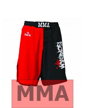 Dae Do Pantalone MMA Scream  (XL - ROSSO - NERO)