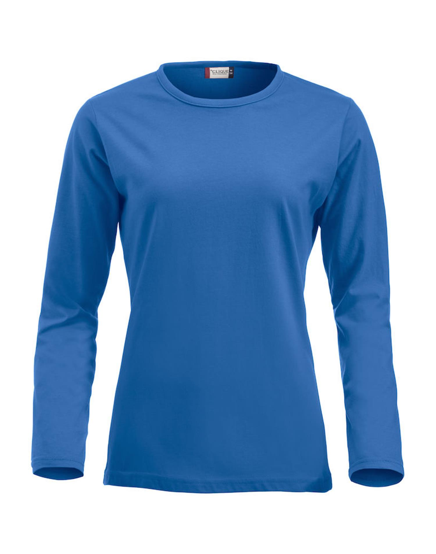 NewWave Fashion-T Ladies Long Sleeve (S - ROYAL)